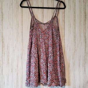 American Eagle Outfitters Tops - American Eagle Floral Crisscross Tank